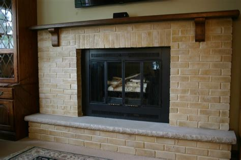 fireplace makeover traditional living room other