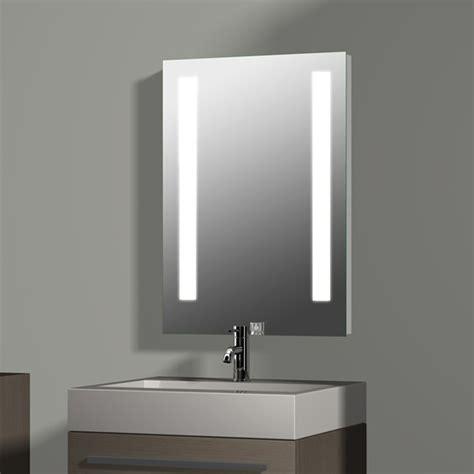 beleuchtung spiegel treos serie 604 spiegel mit integrierter beleuchtung 50x70cm