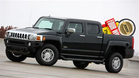hummer h3t declared truck of the year by four