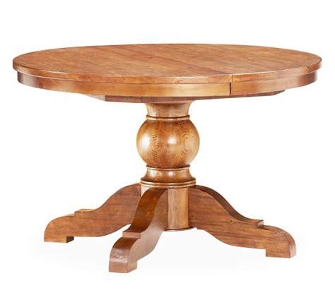 sumner extending pedestal dining table sumner extending pedestal dining table pottery barn