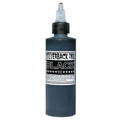 silverback tattoo silverback ink black 11 4 oz tatsoul premium