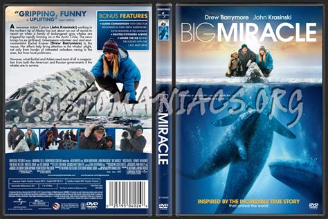 Big Miracle Free Megavideo Big Miracle Dvd Cover Dvd Covers Labels By Customaniacs Id 158929 Free Highres