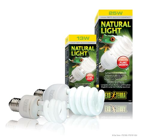 full spectrum non uv light bulbs exo terra natural light full spectrum daylight