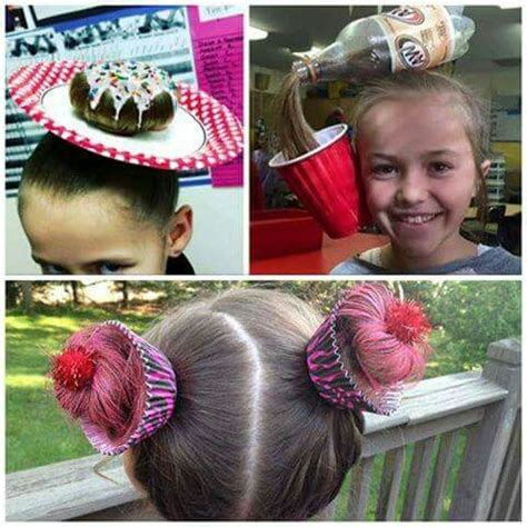 crazy hairstyles at home 17 best images about crazy hair day on pinterest before