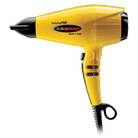 Babyliss Hair Dryer Yellow babyliss pro italiabrava professional hair dryer