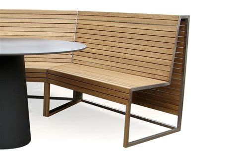 outdoor corner bench smithfield outdoor corner bench andrea stemmer