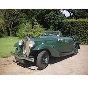 Triumph Gloria G12 Sports Tourer 1936  British Classic