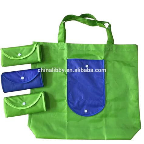 printing acceptable polyester foldable shopping bag buy foldable shopping bag