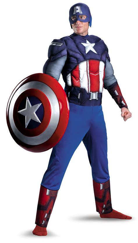 Costum Captain America mens captain america chest costume mr costumes