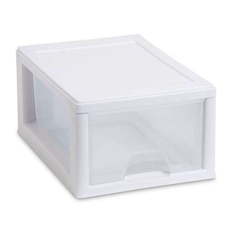 Sterilite Stackable Storage Drawers by Sterilite Small Stacking Storage Drawer 20518006