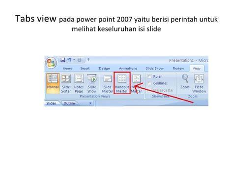 tab menu yang berisi perintah layout slide adalah perbedaan ms 2003 dan ms 2007