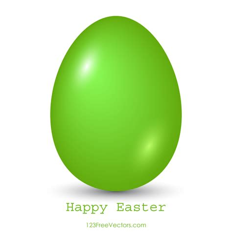 free vector clipart images green easter egg clip image 123freevectors