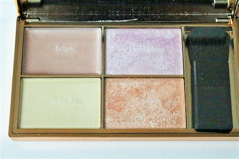 Sleek Highlight Palette Solstice sleek solstice highlighting palette review swatches really ree