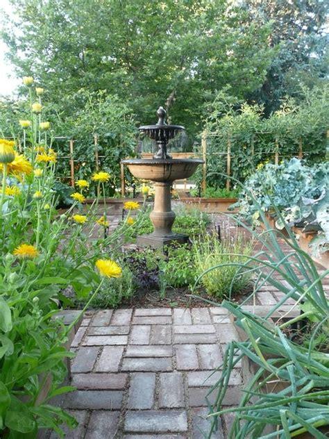 formal kitchen garden  front yard  planning group