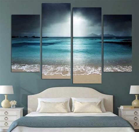 beach bedroom wall decor wall art beach scenes bedroom decoration ideas home