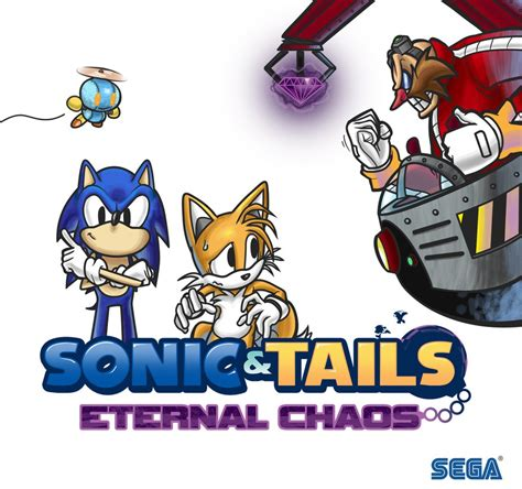 design your dream sonic sonic and tails eternal chaos by j ungar on deviantart