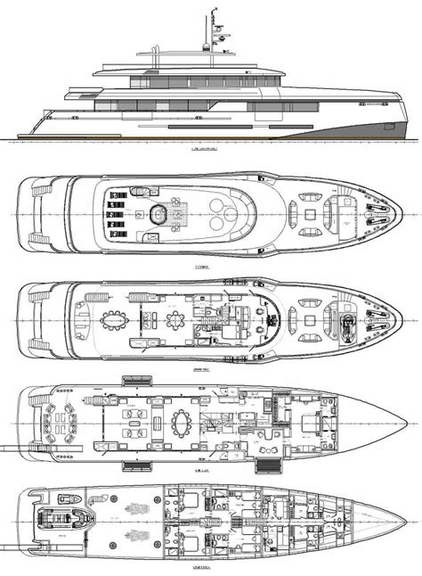 expedition boat plans expedition yacht deck plan yacht deck plans printable