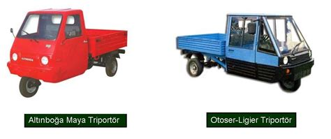 klasik arabalar triportor  teker kamyonet tikla