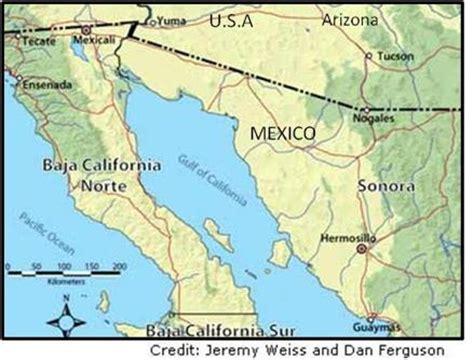 hermosillo sonora mexico map scenario planning for future water security in hermosillo