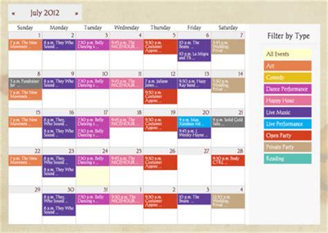 web calendar software event registration