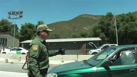 pine valley california u s border patrol interior