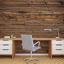 Wooden Wall Murals Wood Wallpaper Ebay