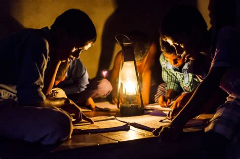 outside lights without electricity india s need for electricity is a problem for the