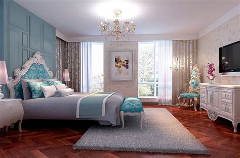 New Bedroom Interior Design New Classical Bedroom Interior Design For 3d House