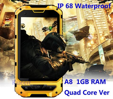rugged store aliexpress buy ip68 rugged android waterproof smartphone unlocked cell phone a8 mtk6582