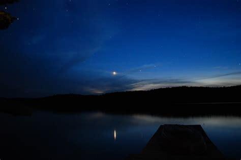 beautiful lake beautiful sky beautiful starry sky lake free stock photo