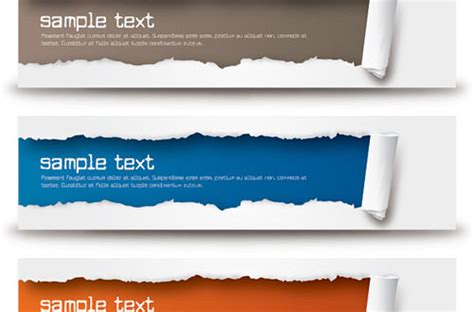design your banner free a new collection of free vector banners to save your time