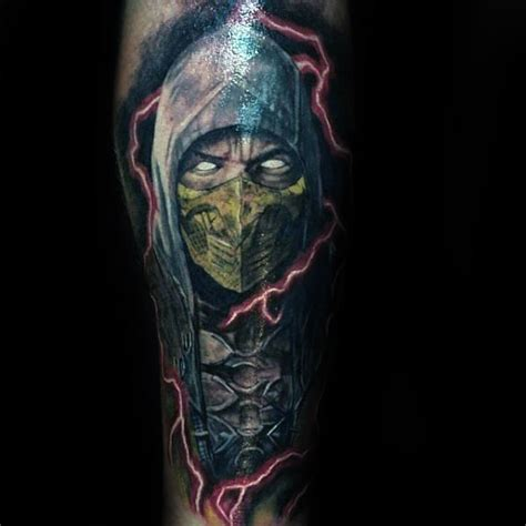 mortal kombat tattoo designs 70 mortal kombat tattoos for gaming ink design ideas