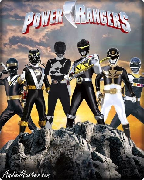 forever back power rangers forever black by andiemasterson on deviantart