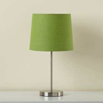 green table l base light years green table shade and nickel base