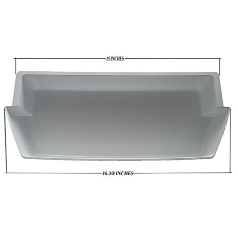 kenmore refrigerator shelves replacement 3 pack door shelf bins 2187172 replacement for frigidaire