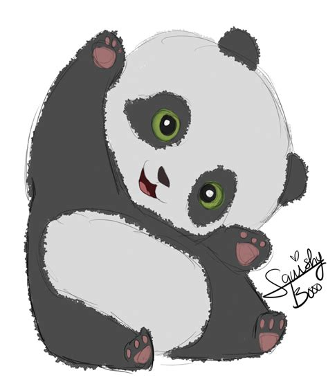 baby doodle drawings baby panda doodle by squishybooo on deviantart