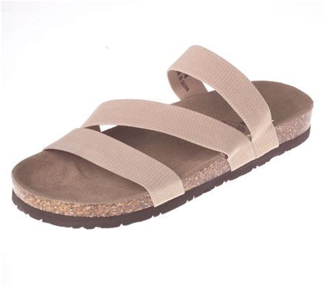 stretch comfort sandals duckhead stretch fabric comfort sandals on sueded bottom