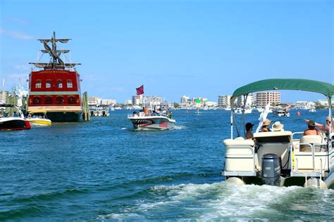 boat rental in destin fl destin s only overnight pontoon boat rentals