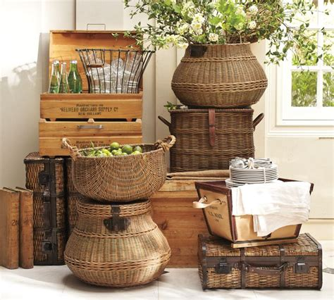 6 ways to use baskets in your home