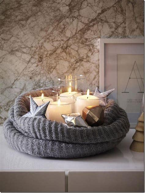 candele decorazioni diy decorazione per natale in stile nordico e interni