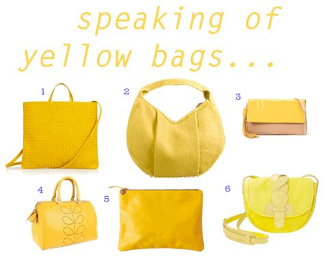 Speaking Of Handbags by Speaking Of Yellow Bags