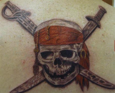 pirates of the caribbean skull tattoo tattooimages biz