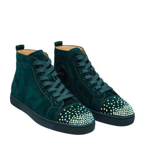 christian louboutin sneakers green garmz