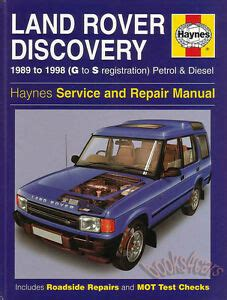 land rover discovery shop manual service repair book haynes 1994 1998 chilton 96 ebay