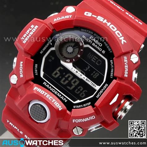 Casio G Shock Gw 9400rd 4 buy casio g shock rangeman in multiband 6 ltd