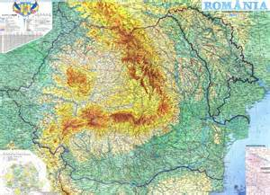 mountains map generic information on romania romania dacia