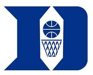 duke blue devils basketball stencil logo reusalble