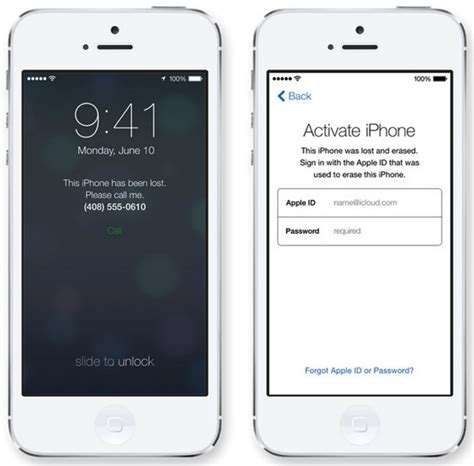 Find Your Ios 7 Security Find My Iphone Toggle Password Protected Prevents Restores Update