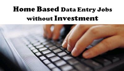 Data Entry From Home Part Time by