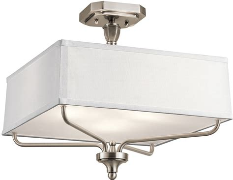 Kichler 43309clp Arlo Classic Pewter Ceiling Light Fixture Pewter Ceiling Light